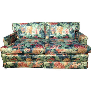 Palm Beach Regency Floral Love Seat