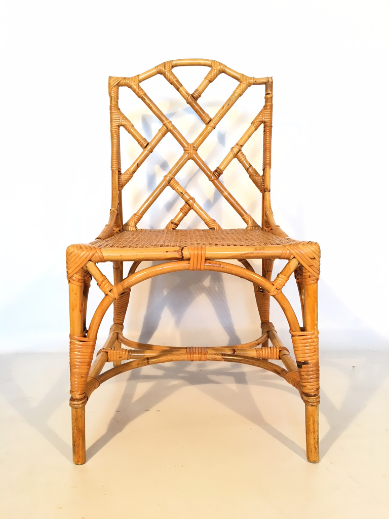 Bamboo Chinese Chippendale Cane Seat Dining Chairs Set Of 10 Marjorie And Marjorie