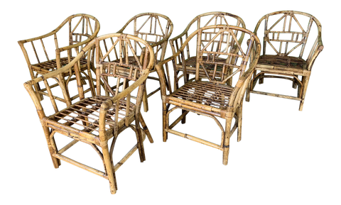 Brighton Pavilion Style Dining Chairs, Set of 6