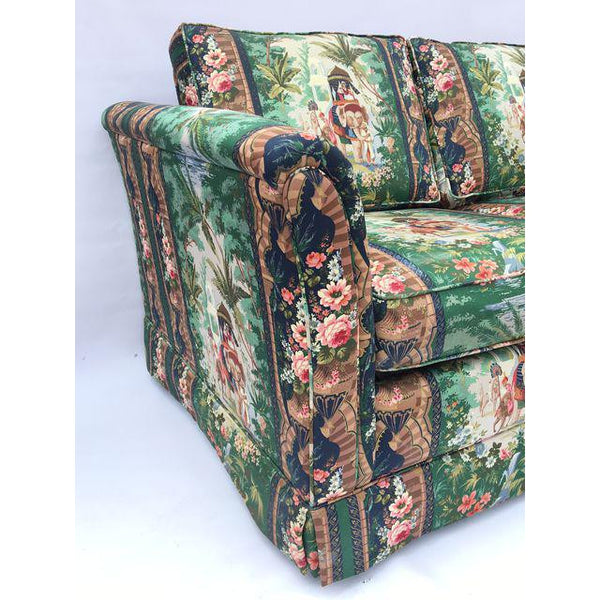 Hollywood Regency Moroccan Tropical Elephant Sleeper Sofa