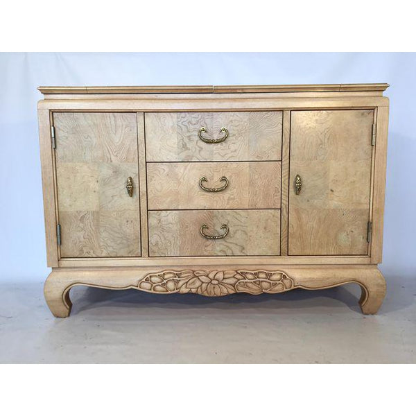 Century Furniture Burlwood Asian Chinoiserie Server front