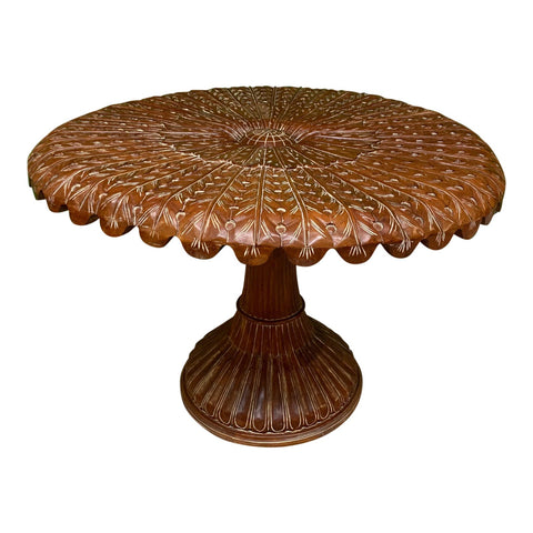 Hand Carved Venetian Grotto Table