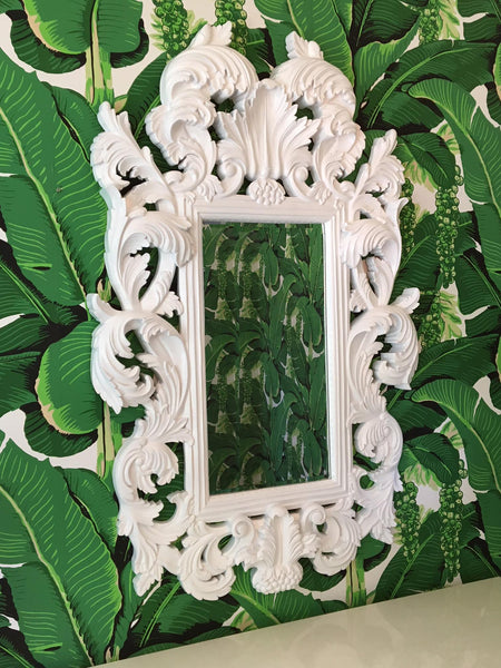 Large Baroque Framed Mirror in the Manner of Dorothy Draper