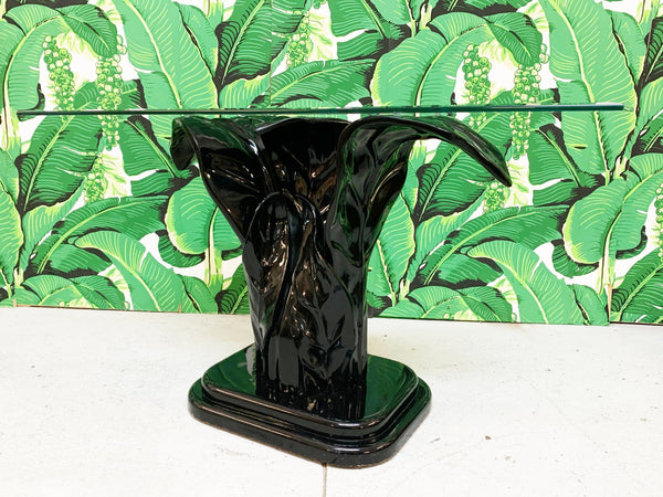 Serge Roche Sculptural Plume Console Table front view