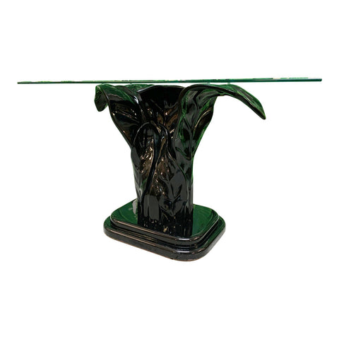 Serge Roche Sculptural Plume Console Table