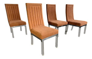 Set of 4 Upholstered Dining Chairs by Charles Hollis Jones