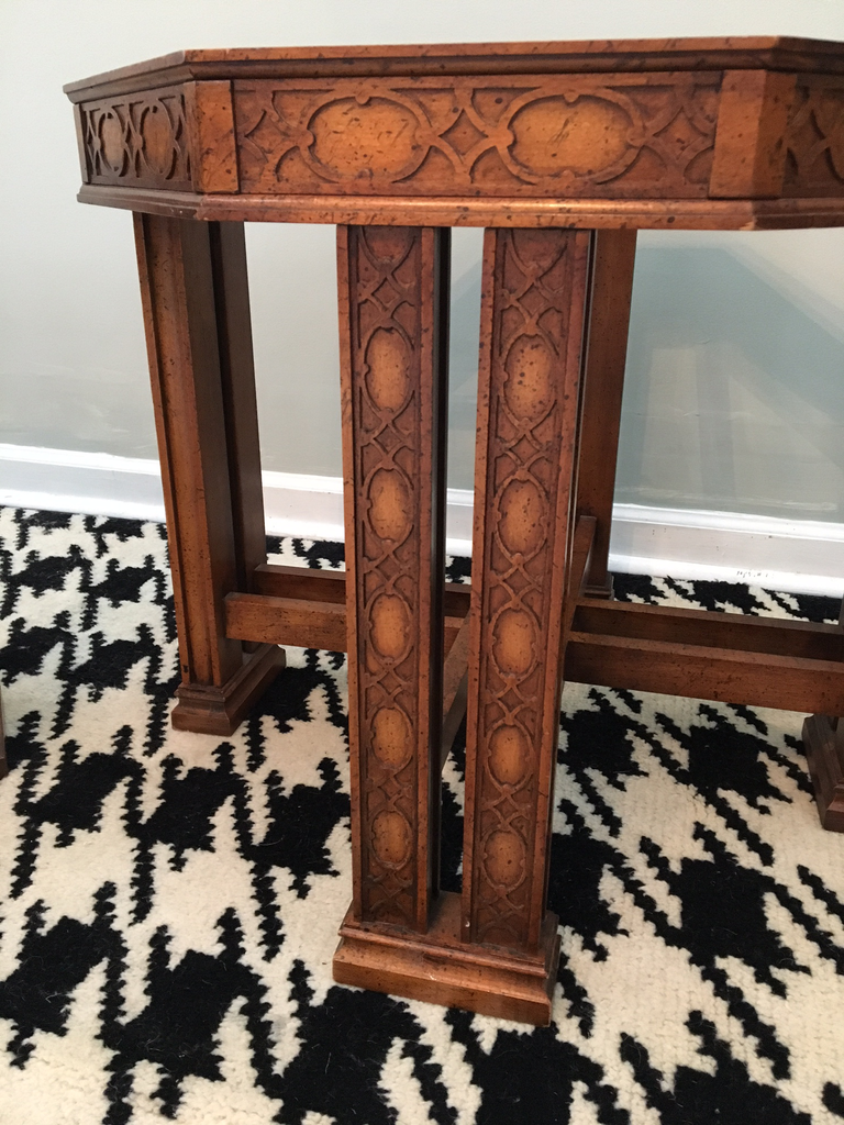 Phenomenal Pair Of Vintage Henredon Asian Chinoiserie End Tables Andrewgaddart Wooden Chair Designs For Living Room Andrewgaddartcom