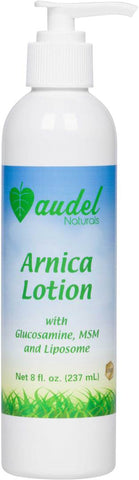 Audel Naturals Arnica Lotion with Glucosamine, MSM, and Liposome