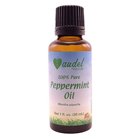 Audel Naturals 100% Pure Peppermint Essential Oil - 1 fl. Oz. (30 ml)