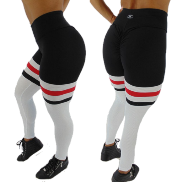 BUTT SCRUNCH  BREATHABLE TRICOLOR LEGGINGS - Iris Fitness home of good quality leggings with really good prices