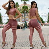 BUTT SCRUNCH SHINY ROSE TH-IRIS LEGGINGS - Iris Fitness home of good quality leggings with really good prices
