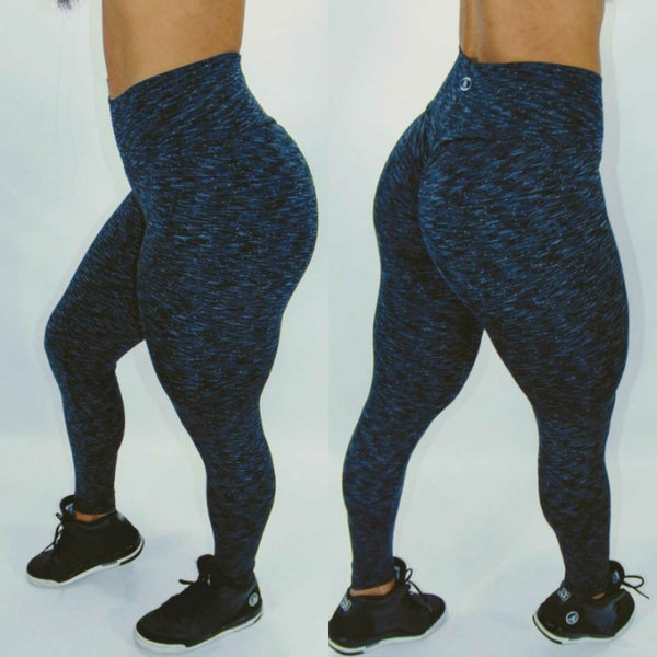 IRIS FITNESS LEGGINGS CHARCOAL BUTT SCRUNCH LEGGINGS also called Booty Scrunch Leggings
