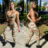 IRIS FITNESS SHORTS BOOTY SCRUNCH BROWN CAMOUFLAGE LEGGINGS also called Booty Scrunch Leggings