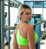 RIPPED FRONT NEON GREEN TOP - Iris Fitness home of good quality leggings with really good prices