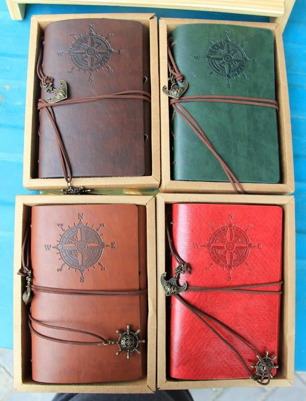 Vintage Leather Journal/Notebook - AvantgardExchange.com
