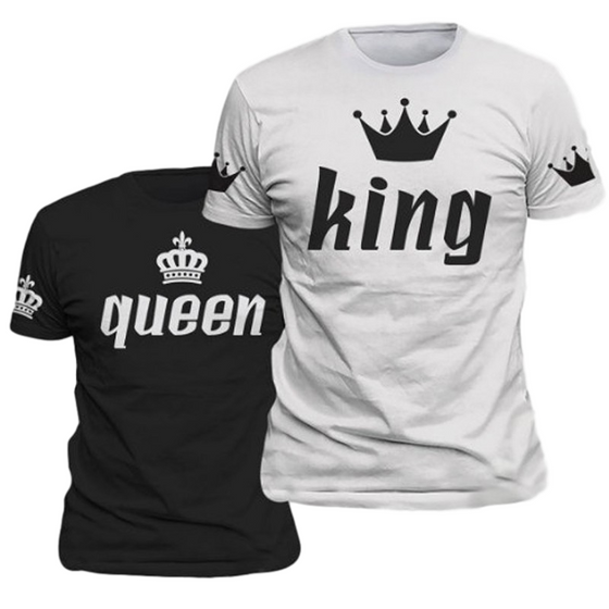 couple apparel king and queen