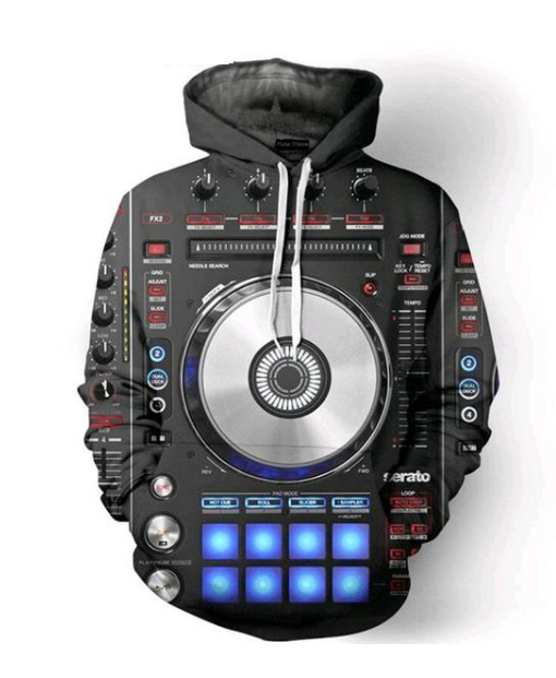 Music DJ's Collection Hoodie - AvantgardExchange.com