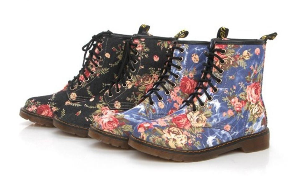 Ankle boots Floral