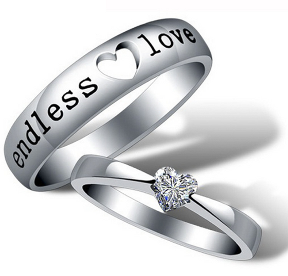 Endless Love Couple Rings - AvantgardExchange.com