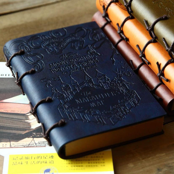 Vintage Leather Travel Journal - AvantgardExchange.com