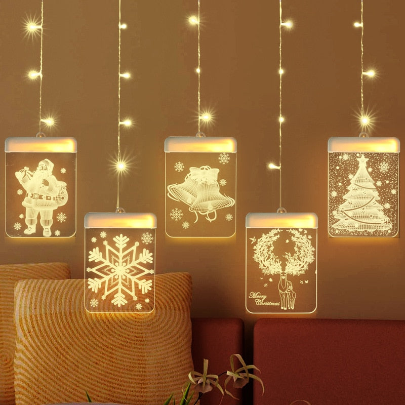 Fairy LED Christmas String Lights