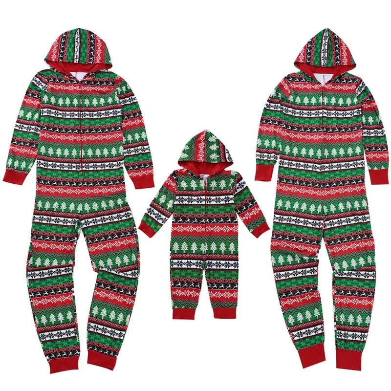 Christmas Family Sleepwear Pajamas Set