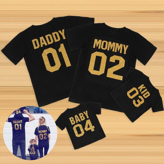 Mommy & Daddy Family Matching Shirts - AvantgardExchange.com