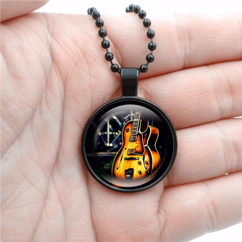 Classic Guitar Necklace - AvantgardExchange.com