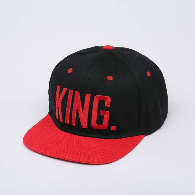 King & Queen Snapback Hip Caps - AvantgardExchange.com