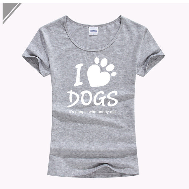 I LOVE DOGS T-Shirt: Women SPCA - AvantgardExchange.com