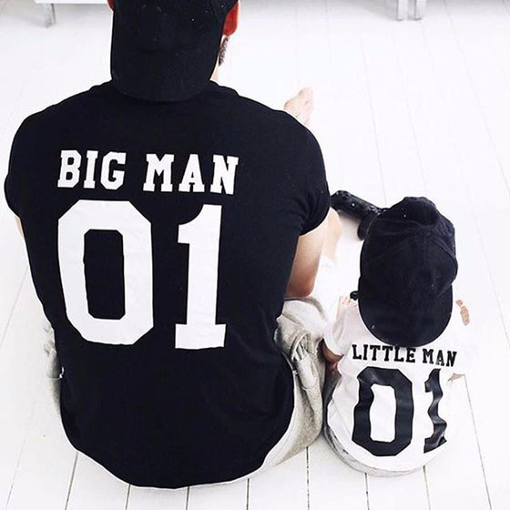 Big Man, Little Man Shirts