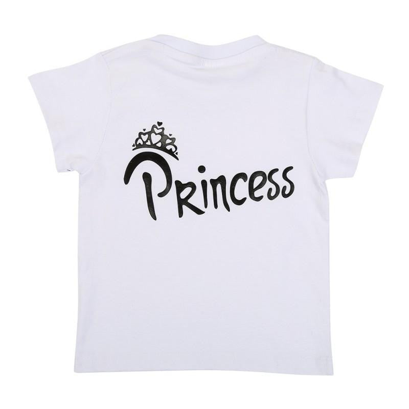 Family King & Queen with Prince & Princess Matching TShirts - AvantgardExchange.com