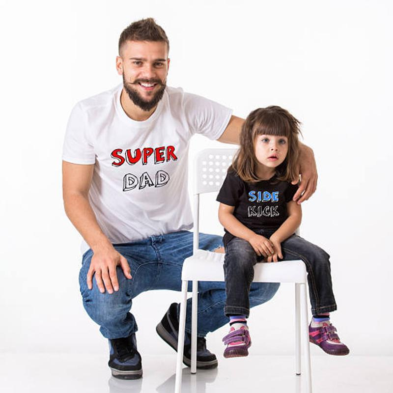 Super Dad and Side Kick Matching Shirts - AvantgardExchange.com