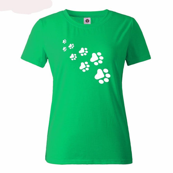 Puppy Prints! T-shirt- Women SPCA - AvantgardExchange.com