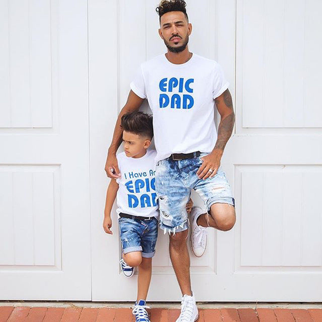 Epic Dad and Son Matching Shirts - AvantgardExchange.com