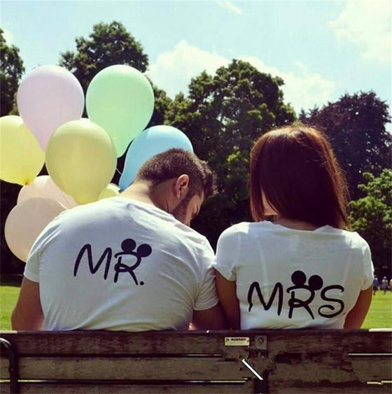 Mr and Mrs T-shirts - AvantgardExchange.com