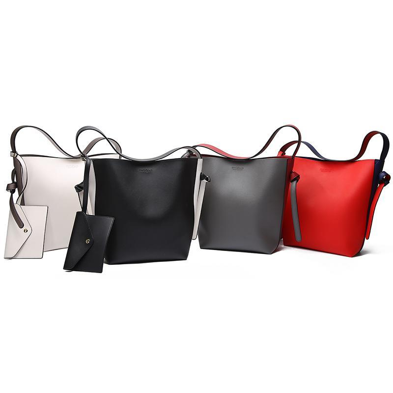 Faux Leather Shoulder Bag - AvantgardExchange.com