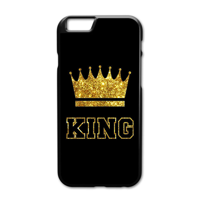 King Queen Couple Cover iPhone, Samsung - AvantgardExchange.com