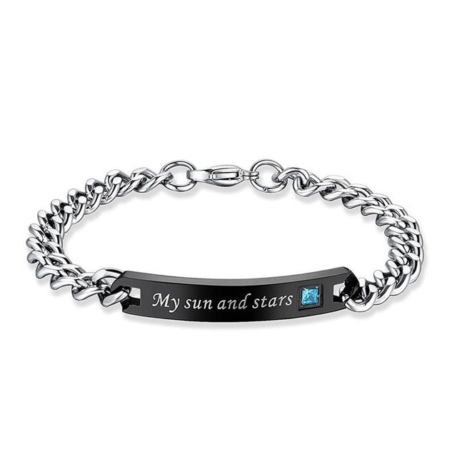 Moon and Star Couples Bracelets - AvantgardExchange.com