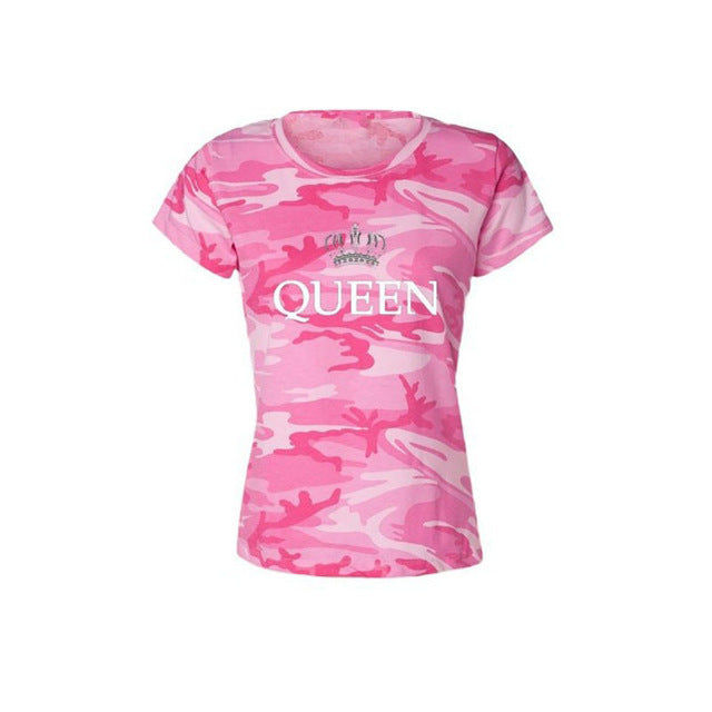 Camouflage Queen T-Shirt