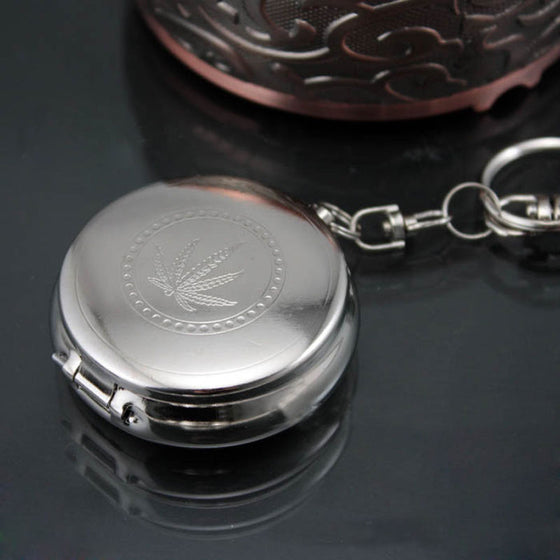 Stainless Steel 'Secret Compartment' Keychain - AvantgardExchange.com