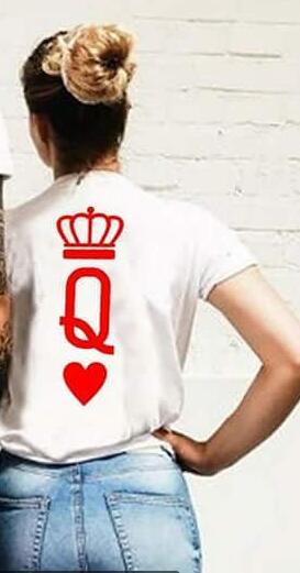 Poker King and Queen Couple Shirts - AvantgardExchange.com