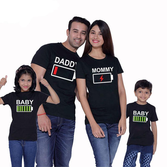 Family Battery Matching TShirts - AvantgardExchange.com