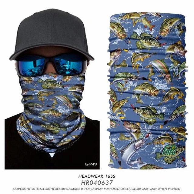 Quick-Dry Scarf/Bandana- Fishing