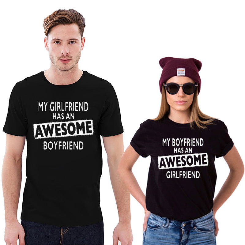 Awesome Girlfriend Boyfriend Couple Shirts - AvantgardExchange.com