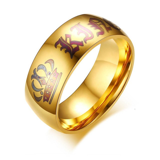 King and Queen Gold Crown Couple Ring - AvantgardExchange.com