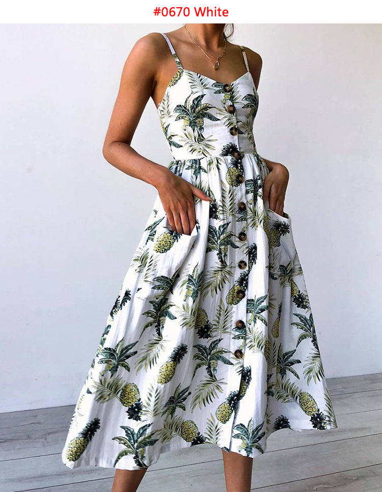 Summer Bohemian Sundress