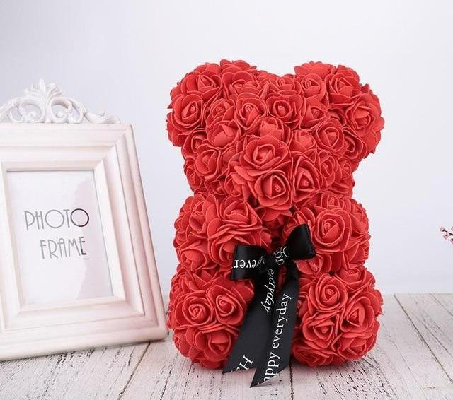 Romantic Rose Bear