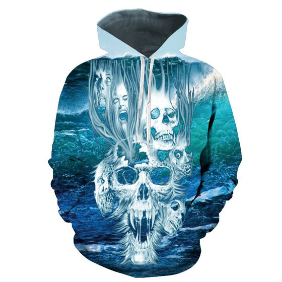 Hip Hop Skull Collection Hoodies