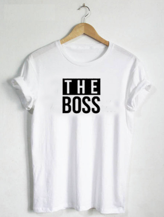 The Boss and The Real Boss Couple Shirts - AvantgardExchange.com